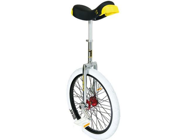 QU-AX Profi ISIS Ethjulet cykel hvid/sølv (2019) | City-cykler